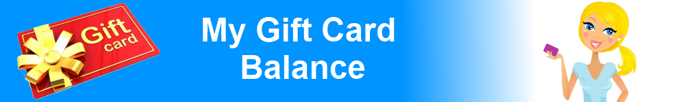 My Gift Card Balance
