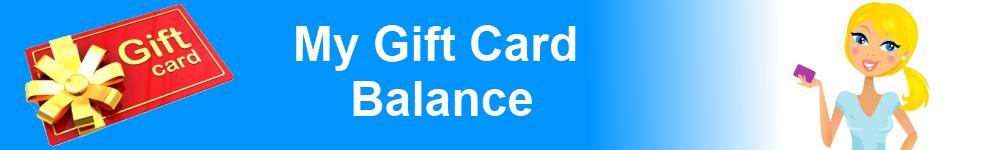 My Gift Card Balance